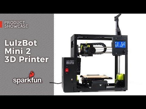 Product Showcase: LulzBot Mini 2 3D Printer