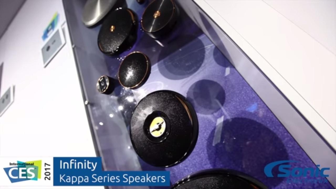 Infinity Kappa Series Speakers Ces 2017 Youtube
