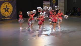 STARS VARNSDORF TEAM DANCE FREE STYLE POM PEEWEE at BASTA 2018