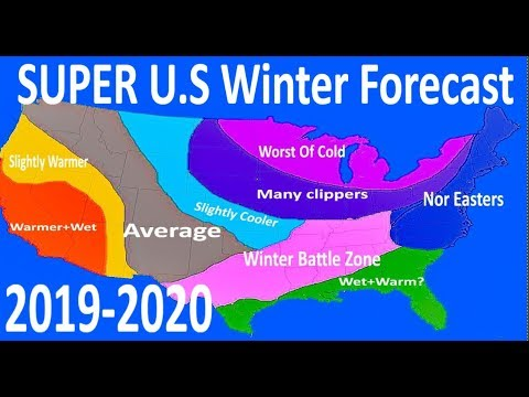 2020 And 2019 Winter Forecast.Super U S Winter Forecast 2019 2020