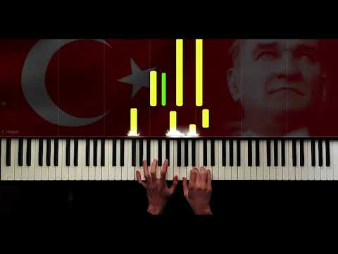 İSTİKLAL MARŞI - PİANO TUTORİAL by VN