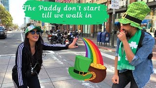 Our First Couple's Vlog! San Francisco St. Paddy's Day 2019 | Dhar and Laura