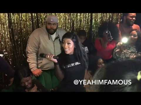 K.Michelle host KIMBERLY The People I Used To Know Album Listening Party in NYC