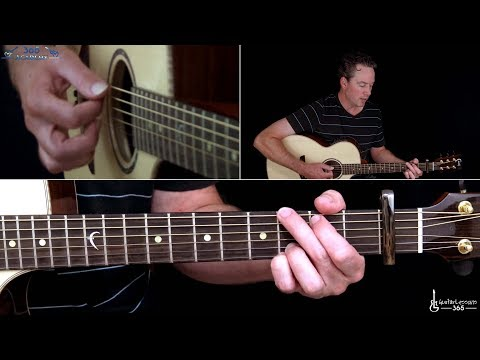 Queen - Somebody to Love Guitar Lesson (Acoustic)