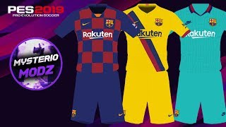Kitpack fc barcelona 2020 (home, away and third) for pes 2019 ps4. descarga/download: http://stfly.io/txjtz mysterio modz 2019.