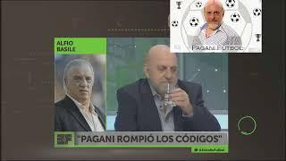 Alfio Basile acusa de ROMPE CODIGOS a Horacio Pagani
