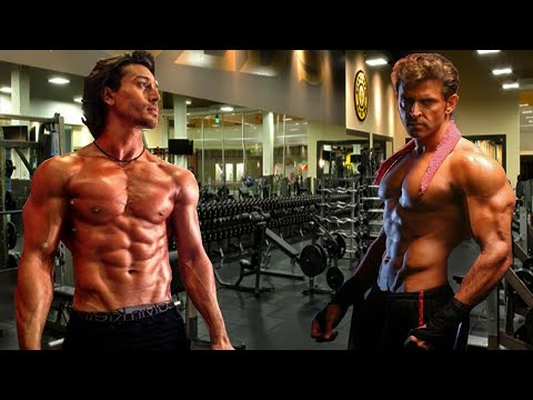 TIGER Shroff VS HRITIK ROSHAN Leaked Video In Gym.BAAGHI 2