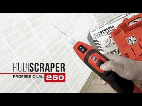 RUBISCRAPER-250 Electric Grout Scraper
