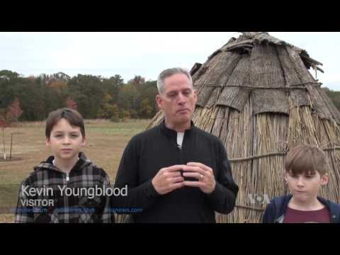 New American Indian Village Takes Visitors Back in Time