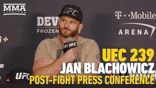 UFC 239: Jan Blachowicz: 'I Deserve' Next Title Shot After Beating Luke Rockhold - MMA Fighting