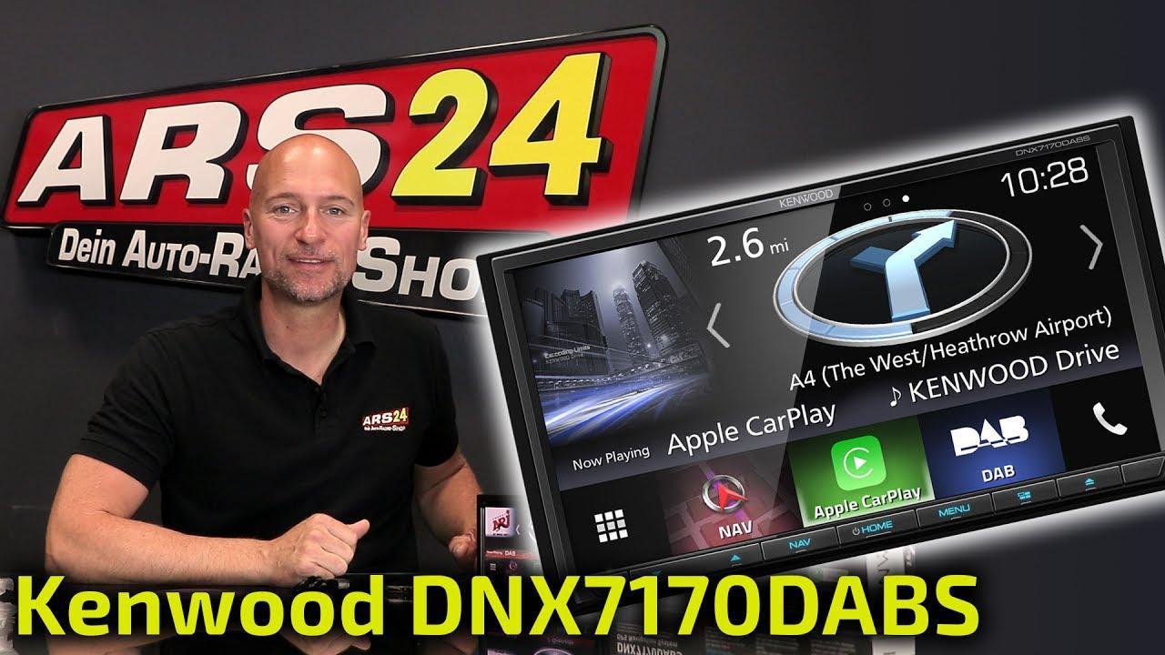 Kenwood DNX7170DABS | Autoradio ProduKtvorstellung | ARS24 - YouTube