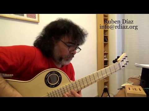 Ear training (5 Mixolidyan mode) in modern flamenco /Learn Paco de Lucia´s Style/Ruben Diaz