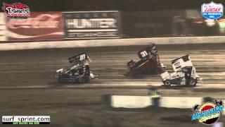California Lightning Sprints at Bakersfield Speedway Highlights