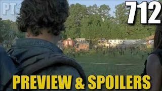 The Walking Dead Season 7 Episode 12 Preview Discussion & Spoilers TWD 712