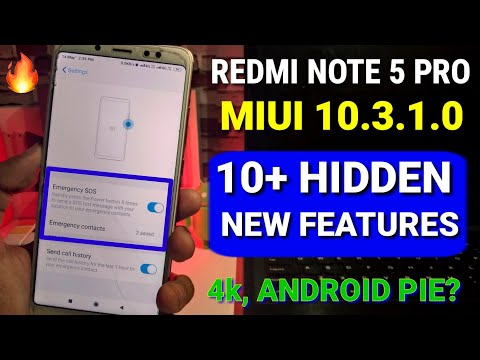 redmi-note-5-pro-miui-10.3.1.0-update-10+-new-features-|-andriod-pie,-dark-mode-for-note-5-pro