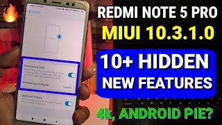Redmi note 5 Pro Miui 10.3.1.0 update 10+ new features | Andriod Pie, Dark mode for note 5 Pro