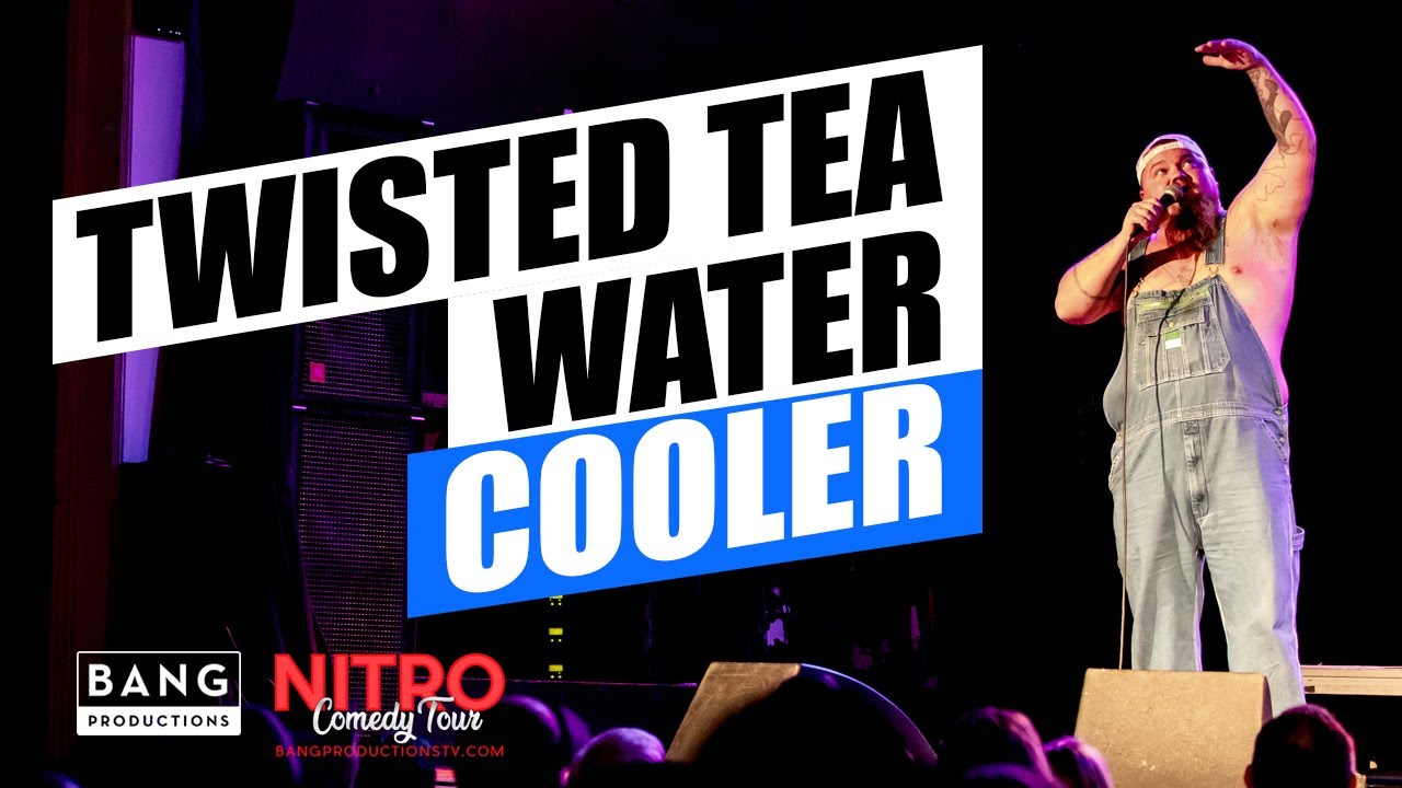 COMEDIAN CATFISH COOLEY: TWISTED TEA WATER COOLER - FUNNY LAUGH COMEDY
