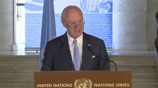 Constitutional Committee in Focus for War-Torn Syria - Press Briefing