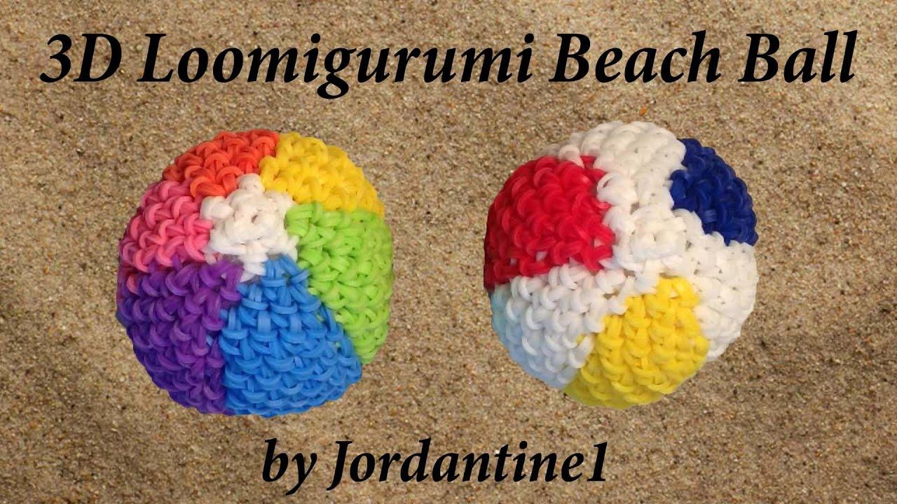 Close Amigurumi Ball : New Loomigurumi / Amigurumi Beach Ball - Rubber Band ...