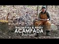 Acampada bushcraft y cocina natural con fuego | 3 trucos faciles DIY Cooking Stick