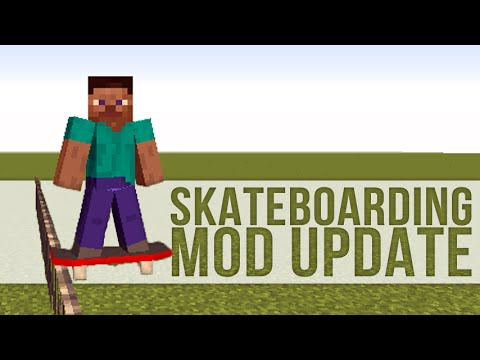 MrCrayfish's Skateboarding Mod Update #2: Point System and More Tricks!