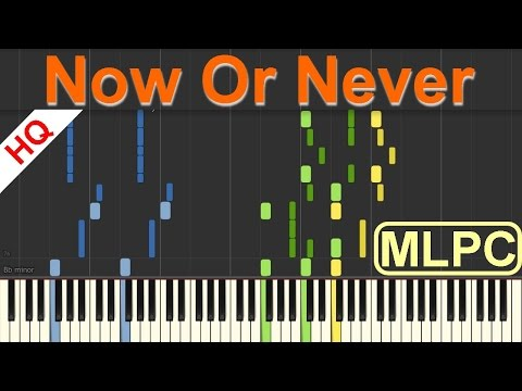 Halsey - Now Or Never I Piano Tutorial & Sheets by MLPC