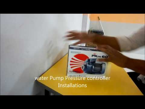water Pumps Pressure controller Installations 2017