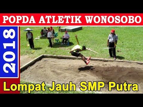POPDA Wonosobo 2018 : Lompat Jauh SMP Putra.