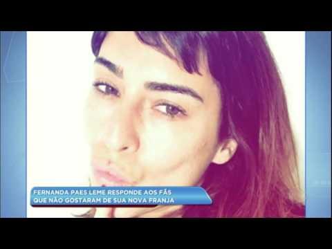 Hora da Venenosa: Fernanda Paes Leme responde fãs que a criticaram