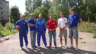 БК Парма обустраивает баскетбольную площадку