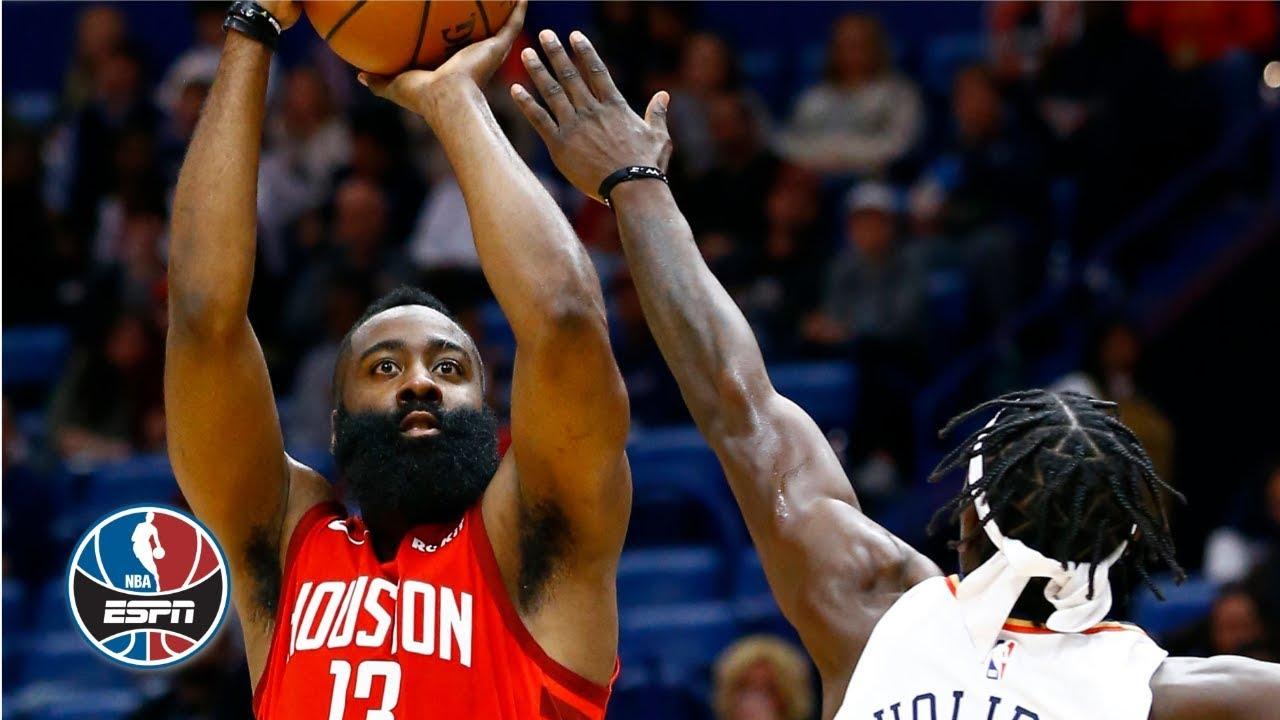 2117b1d80c02 James Harden scores 41 points in win vs. Pelicans