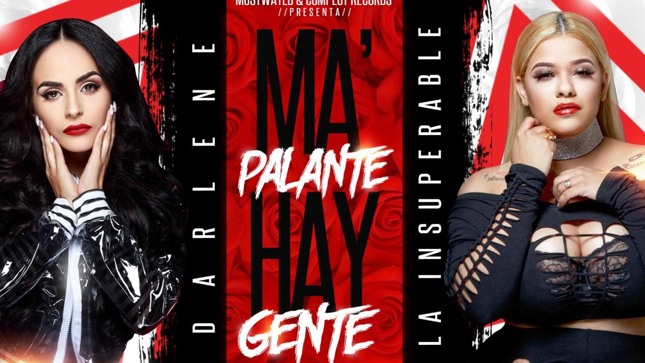 video audio Darlene ft La Insuperable -  Ma palante Hay Gente   Prod By Jerryelsp