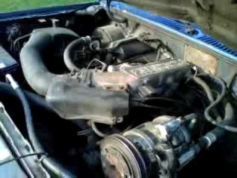 1988 Ford Ranger 6 Cyl 2 9 Motor Youtube