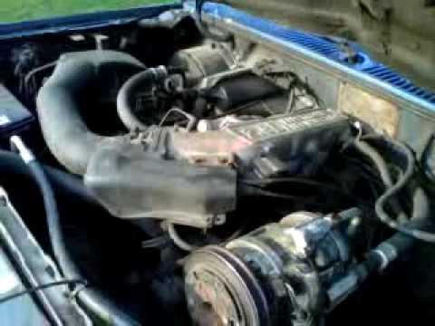 1988 FORD RANGER 6 cyl 29 motor - YouTube