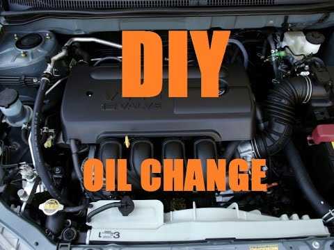 how to change transmission oil toyota corolla 2003