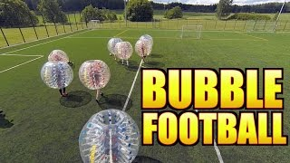 BUBBLE FOOTBALL IS AWESOME!