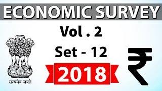 Economic Survey 2018 Volume 2 Set-12 Multidimensional analysis for UPSC/RBI/IBPS/SBI/State PCS