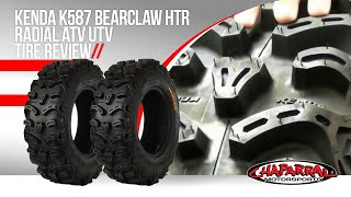 Kenda K587 Bearclaw HTR Radial ATV UTV Tire Review