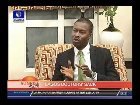 It is illegal for Lagos govt to sack striking doctors with a case in court: John Oloyede