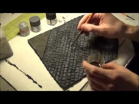 Tutorial: Building, Painting, and Weathering a WWII Street Diorama