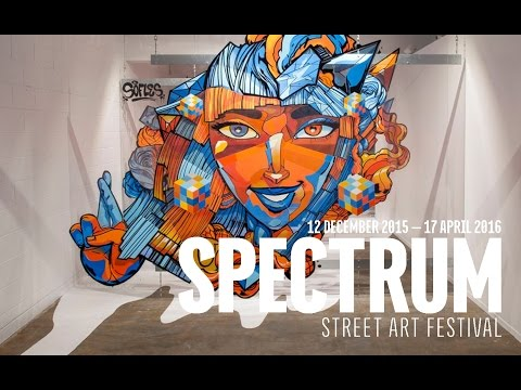 SPECTRUM Street Art Festival 2015/16 - Christchurch, New Zealand