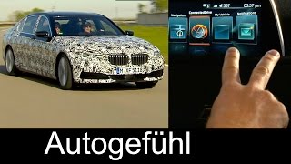 Preview all-new BMW 7-Series 2016 technology: gesture control, auto parking, cabron fibre Neuer 7er