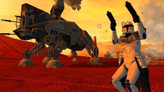 Star Wars Battlefront 2 Mods: Geonosis: Landing at Point Rain