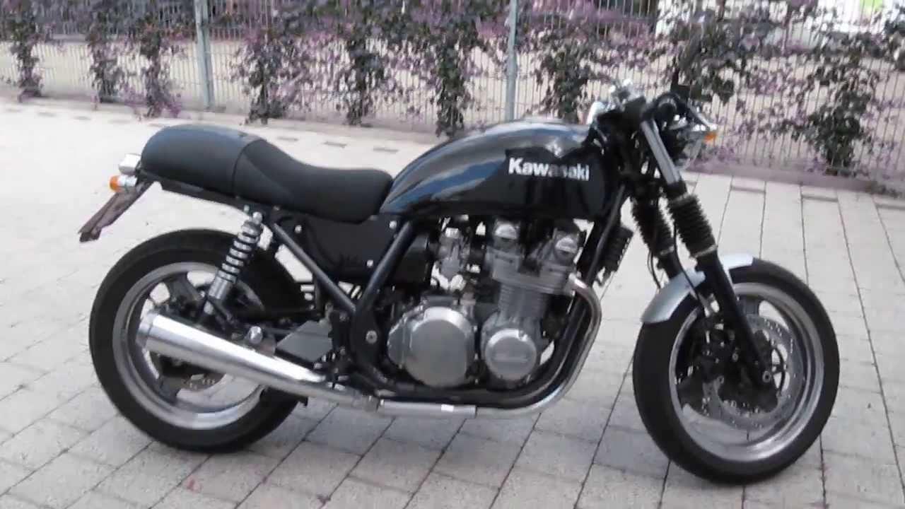 kawasaki zephyr 750 umbau cafe racer youtube. Black Bedroom Furniture Sets. Home Design Ideas