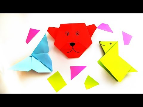 25 Pawsome Origami Dogs that You Mutt See | 360x480