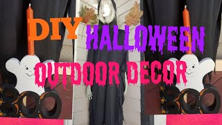 DIY Halloween Decor Ideas- Halloween Outdoor Decor  Ideas # Halloween Ghost Dummy Decoration