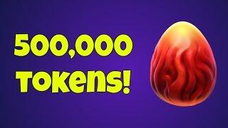 I need 500k Tokens!