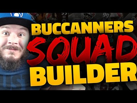 ALL-TIME TAMPA BAY BUCCANEERS SQUAD BUILDERS & GAMEPLAY | MADDEN 16 ULTIMATE TEAM
