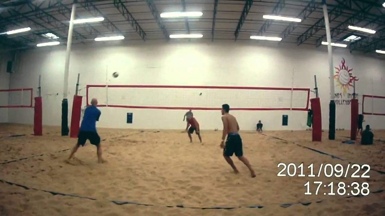 Texas Image Indoor Beach Volleyball Dayton Arellano Highlights You