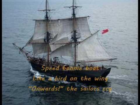 The Skye Boat song - scottish folksong lyrics